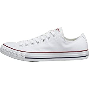 Converse Chuck Taylor All Star Optical White Textile Trainers by Converse