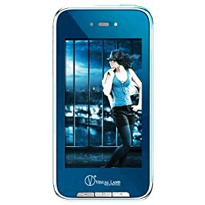 Visual Land V-Touch Pro 4 GB 3-Inch Touch Screen MP3 Player