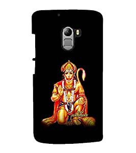 printtech Lord God Hanuman Back Case Cover for Lenovo K4 Note A7010a48, A7010