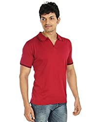 Silver Spring Red Super Combed Cotton T Shirt _ RVD021_XL