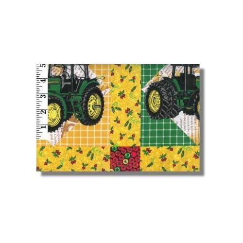 Amazon.com: John Deere Cheaters Patchwork Quilt Pattern