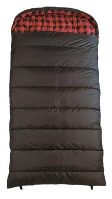 TS-CXXL-0F TETON Sports Celsius 90inx39in XXL -18 Degree C / 0 Degree F Flannel Lined Sleeping Bag