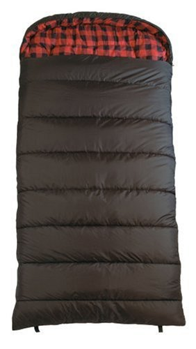 Teton Sports Celsius XL 0-Degree Sleeping Bag (Black, Right Zip)
