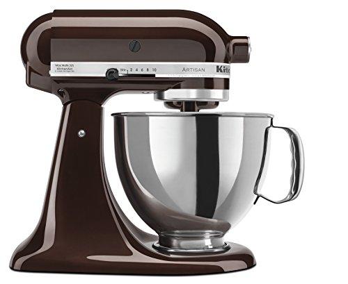KitchenAid Classic Tilt Head Artisan 5KSM150PSBES 300-Watt Stand Mixer (Espresso)
