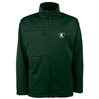 NCAA Michigan State Spartans Traverse Jacket Mens by Antigua