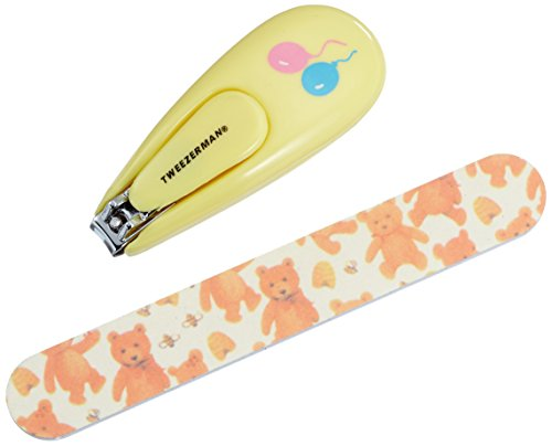 Tweezerman Baby Nail Clipper With Bear File
