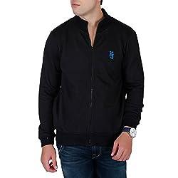 KILLER Men's Cotton Black Sweatshirt_M
