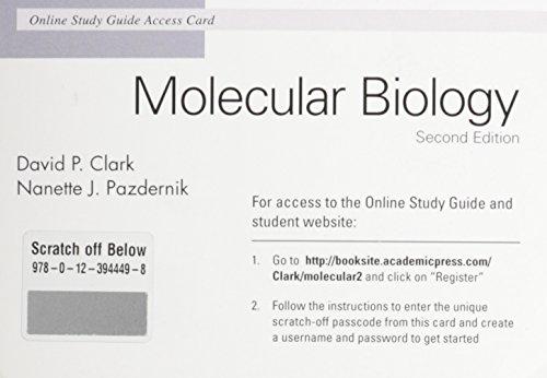Molecular Biology Online Study Guide Access Card