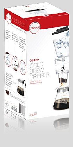 Osaka-4-Cup-20oz600ml-Cold-Brew-Coffee-Dripper-Adjustable-Dripper-with-Glass-Carafe-Mount-fuji