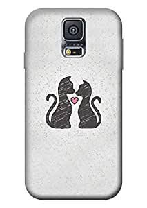 Samsung Galaxy S5 Hard Case Kanvas Cases Premium Quality Designer 3D Printed Lightweight Slim Matte Finish Back Cover for Samsung Galaxy S5