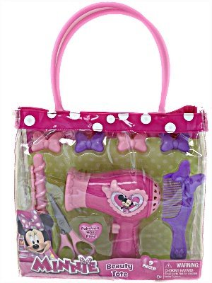 Awardpedia Minnie Mouse Beauty Set Real Hair Dryer Sound