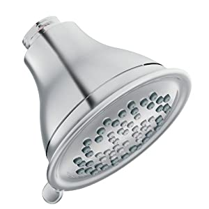 Moen 3233 Envi Three-Function Eco-Performance Showerhead, Chrome