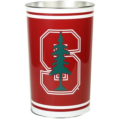 Wincraft NCAA Stanford University Wastebasket Tapered, 15-Inch H