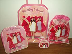 High School Musical 4 pice Luggage Set from Disney