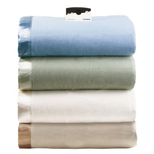 Cannon Heated Blanket King Size Linen Color With Automatic Heating