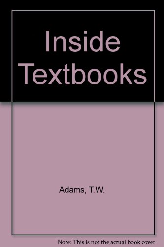 Inside Textbooks:  What Students Need to Know