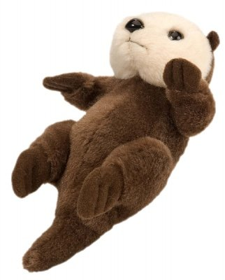 Stuffed Sea Otter 5 Inch Itsy Bitsy Plush Animal By Wild Republic
