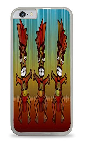 [Aztec Dancers White Hardshell Case for iPhone 6 (4.7)] (Aztec Dancers Costumes)