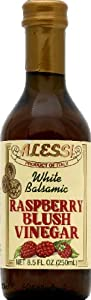 Alessi White Balsamic Raspberry Blush Vinegar -- 8.5 fl oz