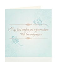 Religious Words Sympathy Card