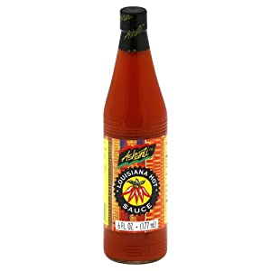 Ashanti Louisiana Sauce Hot 6 Oz (Pack of 2) from Ashanti