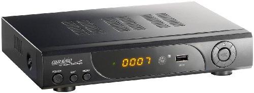 auvisio HD-Sat-Receiver + FullHD-Player & HDD/Festplatten-Schacht