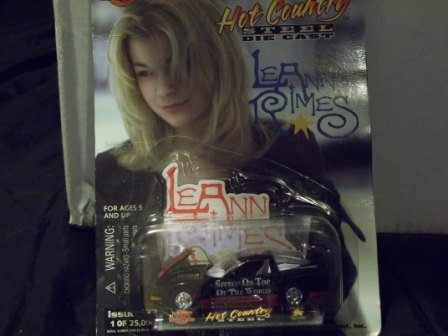 Racing Champions Hot Country Steel Die-Cast Leann Rimes #23 of 25,000 1999 Chevy Corvette - 1