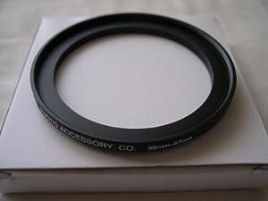 HeavyStar Dedicated Metal Stepup Ring 58mm-67mm