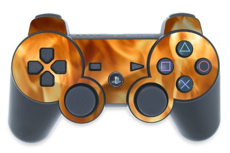 Mygift Firestarter Design Ps3 Playstation 3 Controller Protector Skin Decal Sticker