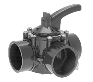 Hayward Psv3s 1 1 2 To 2 Inch 3 Way Diverter Valve Cpvc Material Swimming Pool