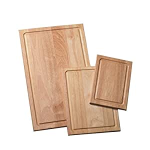 Farberware 3-Piece Wood Cutting Board Set