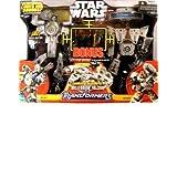 Star Wars Deluxe Transformer Millenium Falcon ~ Hasbro