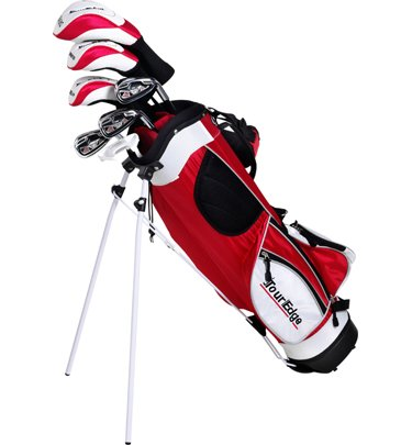 Tour Edge HT Max-J Set (Junior's, Ages 9-12, 7 Club Set, Left Handed, with Bag)