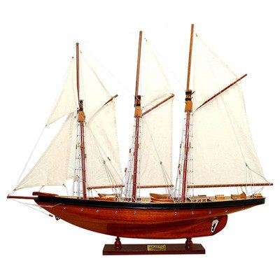 Old Modern Handicrafts Y004 Atlantic Yacht Model Boat