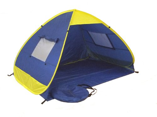 Genji Sports Pop Up Family Beach Tent And Beach Sunshelter  sc 1 st  Beach Tent Store : pop up tent shelter - memphite.com