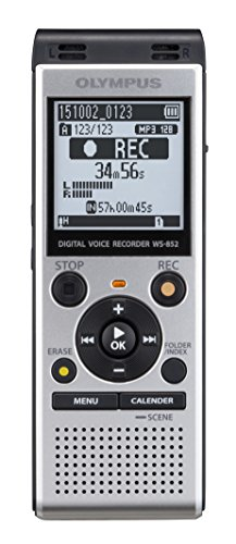 Olympus-Digital-Voice-Recorder-WS-852-Silver