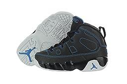 Nike Jordan 9 Retro (TD) 401812-007 Black / White / Photo Blue 5 M US Toddler