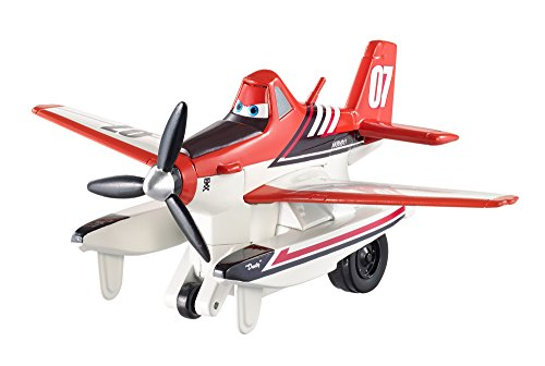Disney Planes: Fire & Rescue Pull & Fly Firefighter Dusty Vehicle