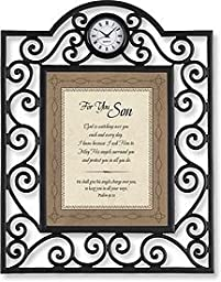 For You Son Psalm:Table Clock Framed Table Clock Christian Verses Paper
