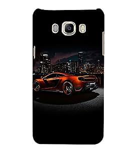 Superb Automobiles 3D Hard Polycarbonate Designer Back Case Cover for Samsung Galaxy On8