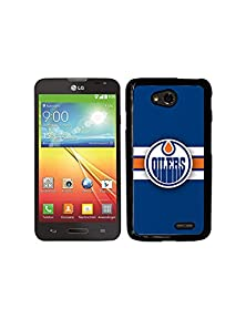 buy Lg L70 Case Nhl Logo, Edmonton Oilers Hockey Team Cool Lg G3 Scratch-Absorbing Hard Case Cover For Lg G3