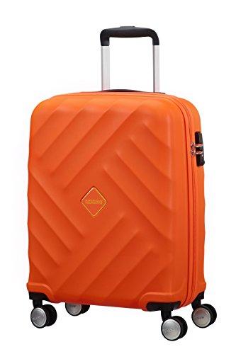 american-tourister-crystal-glow-spinner-55-20-tsa-bagaglio-a-mano-bright-orange-33-ml-55-cm