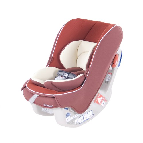 Combi Cocorro Lightweight Convertible Car Seat, Cherry Pie front-178459