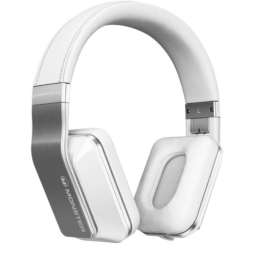 Monster® Inspiration Active Noise Canceling Headphones (White)