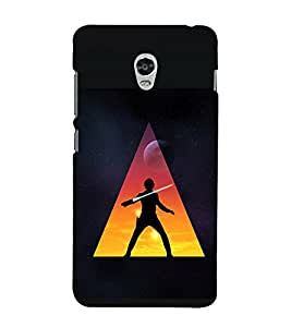 printtech Star Jedi Sword Abstract Back Case Cover for Lenovo Vibe P1