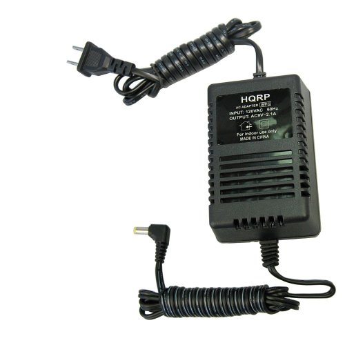 HQRP 9-Volt AC Adapter for Line 6 PX-2 PX-2g fits Stompbox Modelers (DL4, MM4, DM4, AM4, FM4), M9, M13, POD series, POD XT series, POD X3 series 98-030-0042-05 Power Supply Cord Line6 + Coaster