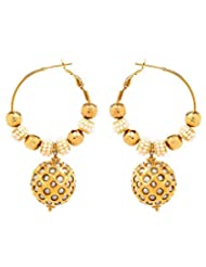 Akshim Multicolour Alloy Earrings For Women - B00NPY8CS0