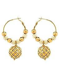 Akshim Multicolour Alloy Earrings For Women - B00NPY8CS0