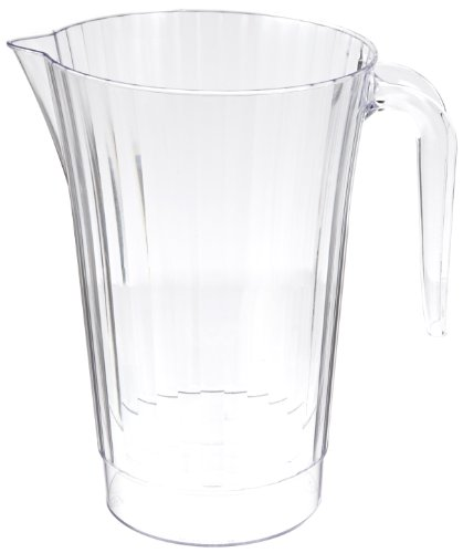 Classicware Rigid Plastic Beverage Pitcher, 50-Ounce Capacity, Clear (40-Count) (Plastic Beverage Pitcher compare prices)