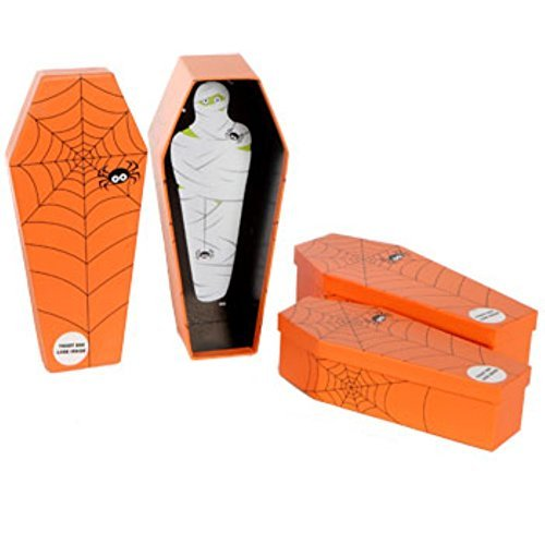 Halloween Coffin-shaped Nesting Spooky Boxes for Your Halloween Tricks and Treats!